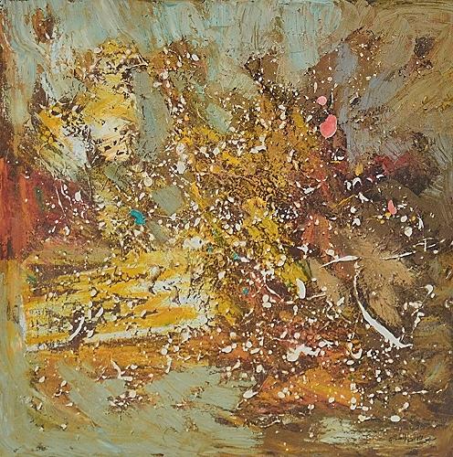 peinture abstraite tunisie